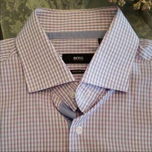 Hugo Boss short sleeves classic shirt